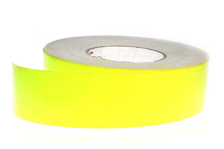 Fluorescent Yellow Tape - 50mm x 9M
