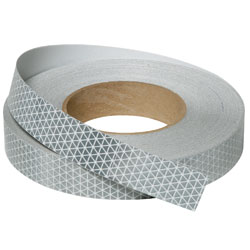 Silver Retroreflective Tape Class 2 Grade 50mm x 9M