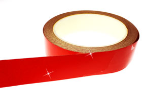 Red Reflective Tape Engineering Grade 25mm x 9M