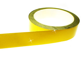 Yellow Reflective Tape Engineering Grade 25mm x 9M